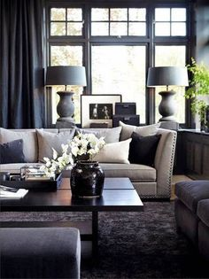 Create a more luxurious living room with these easy to implement design principles and ideas