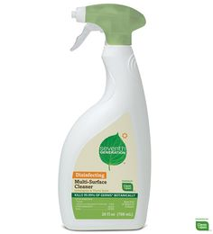 Seventh Generation Multi-Surface is great.  Works on tough kitchen messes and better for the environment.