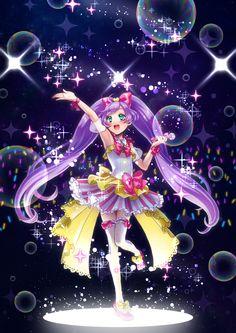 Pri Pra Show Time! Anime Eyes, Manga Anime, Anime Art, Anime Films, Anime Characters, Kawaii Art, Kawaii Anime, Pinterest Diy Crafts, Detective Conan Wallpapers