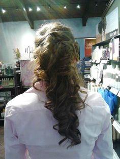 Bridesmaid hair !