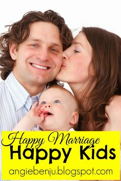 Happy Marriage, Happy Kids {The Boomerang Effect} #marriage #parenting