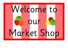 Market Shop Role-Play Signs H-01 Early Years (EYFS), KS1, KS2, Primary & Secondary School teaching help, ideas and free teaching resources for the classroom. We love sharing free teaching resources!