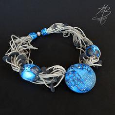 polymer jewelry - Martina Buriánová - my technique - Gossamer