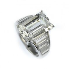 Eternal Emerald Cut Collection Ring