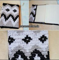 Crochet book cover Crochet Book Cover, Crochet Books, Handmade, Hand Made, Handarbeit
