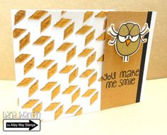 The Alley Way Stamps - Dana Warren - TAWS - Birds of a Feather, Speak Easy Clear Stamps Cards