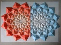 moldes de figuras geometricas de papel - Buscar con Google