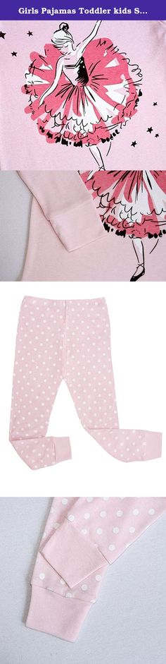 Girls Pajamas Toddler kids Sleepwear 100% Cotton Long Sleeve Clothes Pjs size5T. Material:100% Cotton,wear comfortable; Size:12M-10Years,you can see the title Color:See the picture,it is very cute; Quantity: 1 Long sleeve T shirt+1 Long pants Welcome to Dolphin&Fish Company, we have thousands of products,Please enter our store or search for 'Dolphin&Fish Pajamas',your children will love it;.