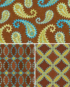 India collection | coordinates | patterns | © wagner campelo