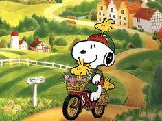 Paseo de Snoopy en B