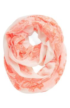 BP. 'Floral Lace' Infinity Scarf