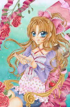 Copic - Candy Manga Girl - From JennyLiz - https://www.facebook.com/jennylizmanga/
