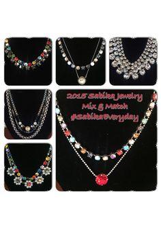 2015 Sabika Jewelry Mic and Match.