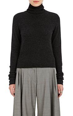 NILI LOTAN Margot Cashmere Turtleneck Sweater. #nililotan #cloth #