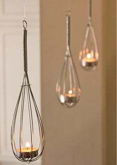 Whisk Light  | 10 Unexpected Ways to Upcycle Household Items | Creative DIY Ideas that will Save you Lots of Money by DIY Ready at http://diyready.com/10-unexpected-ways-to-upcycle-household-items/