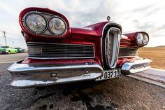1958 Edsel Pacer at Castillo de los Tres Reyes del Morro, Havanna, Cuba.