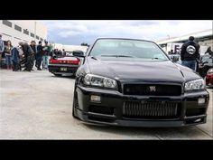 R34 GTR Shuts Down Car Meet!