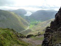 is that the quickest way down? Way Down, Lake District, Lakes, England, Mountains, World, Nature, Photography, Travel
