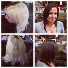 Before and after color by Ashlee V.