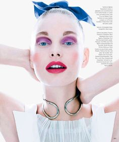 awesome Harper's Bazaar Mexico July 2014 | Patricia van der Vliet by Mark Abrahams  [Beauty]