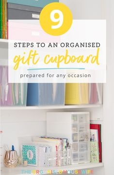 There is nothing quite like the gift of giving and, you know me, I like to be organised and prepared for any occasion that life throws at me. If this sounds like you too, you'll appreciate the blessing of a gift cupboard.
