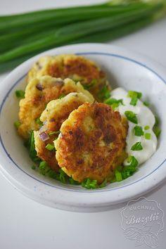 Placuszki z kalafiora – kuchniabazylii.pl – blog kulinarny