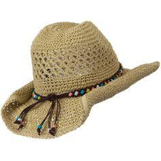 Ladies Crochet Cowboy Hat