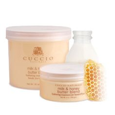 Another product I LOVE is Cuccio products, Especially the Butter Blend Milk & Honey!!