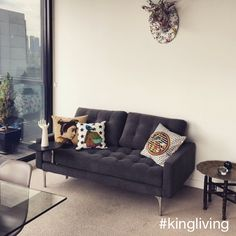 Thanks to @lukerevill for sharing a #KingLiving photo of his Uno in such a well arranged space #home #design #inspo #Uno #style #homedecor