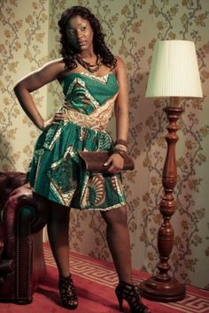 african fabric ankara = fashion