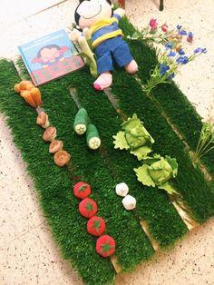 Afbeeldingsresultaat voor anna en haar groentetuintje
