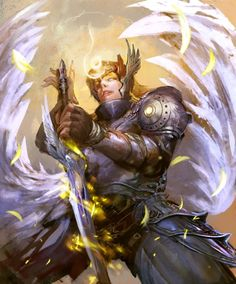 archangel  http://exes9yui.deviantart.com/ http://drawcrowd.com/exes9yui3976  #exes9yui #thebrushtool #digitalart #cg