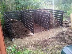 Tips For Composting Construction of Compost Bins in Veg Garden Organic Gardening, Gardening Tips, Gardening Services, Gardening Vegetables, Urban Gardening, Indoor Garden, Outdoor Gardens, Garden Compost, Vegetable Garden Design
