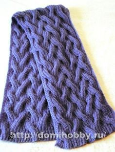Beautiful model of knitted scarf with knitting from fluffy mohair. An interesting pattern of simple weaves is not only beautiful, but also adds volume to the k Crochet Coat, Crochet Baby Booties, Cable Knitting, Knitting Charts, Knitted Shawls, Crochet Scarves, Knitting Patterns, Crochet Patterns, Heaven