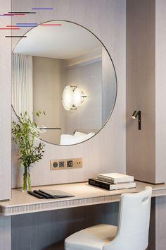 New Bedroom Design Hotel Chic Ideas Design Hotel, Hotel Bedroom Design, Hotel Style Bedrooms, Luxurious Bedrooms, Hotel Bedroom Decor, Hotel Inspired Bedroom, Modern Hotel Room, Bedroom Ideas, Paris Bedroom