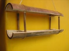 Furniture Shipping From India To Usa Code: 2280005737 Bamboo Planter, Bamboo Shelf, Bamboo Art, Bamboo Crafts, Bamboo Fence, Bird House Feeder, Diy Bird Feeder, Bamboo Furniture, Cheap Furniture