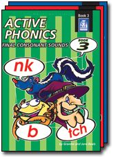 Active Phonics. Initial sounds, initial blends and digraphs and initial consonant sounds.