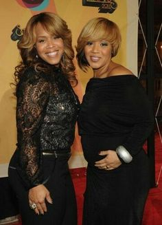 Tina and Erica Campbell from Mary Mary