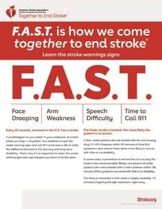 """Shamontiel wrote """"Know what FAST means, not just one sign of a stroke ~ Strokes are 2xs higher for black people"""" #strokesurvivor #strokesymptoms #Sinbad #blackhealth #minorityhealth (Photo: American Stroke Association)"""