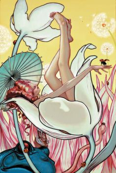 James Jean Psychedelic Art Gallery flowergirl photo