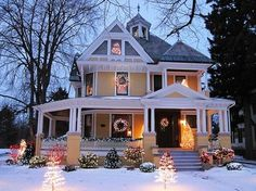 This looks just like the house across the street from us in Champaign.