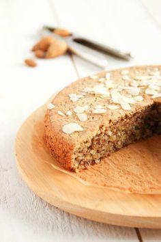 Recette bio : gâteau à l'amande, sans gluten et farine, sans beurre, sans lait