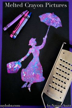Crayon Pictures Melted crayon pictures - craft activity for children.Melted crayon pictures - craft activity for children. Arts And Crafts For Adults, Crafts For Teens To Make, Easy Arts And Crafts, Arts And Crafts Projects, Craft Ideas For Adults, Disney Crafts For Adults, Art Projects For Adults, Activities For Adults, Sensory Activities