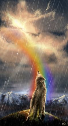 ☆ In Our Rainbow :¦: Art By WolfRoad ☆