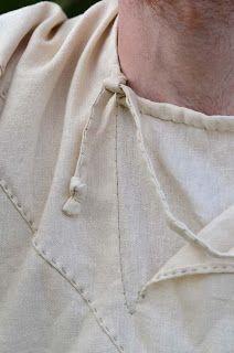 Viborg shirt, XIth. c - details