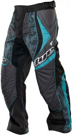 Dye C13 Pants - DyeTree Aqua | Paintball Gear Canada