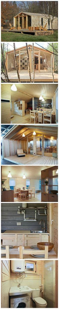 650 Sq. Ft. Prefab Timber Cabin