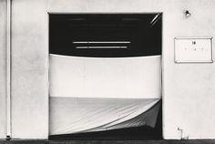 "LEWIS BALTZ, ""West Wall, Space 18, 817 West 17th Street, Costa Mesa"", 1974, silver print, printed ca. 1974, 6"" x 9"""