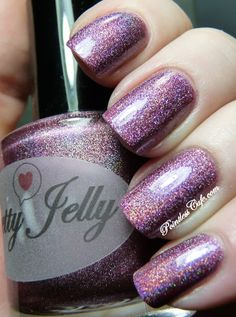 Pretty Jelly Polish - Holo Spam! | Pointless Cafe