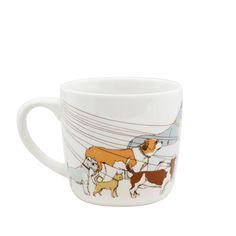 Dog Walker Mug Set Of 2